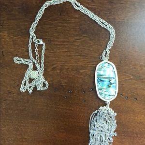Abalone rayne necklace